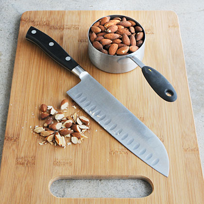 Rescue almonds from the nut bowl and add them to a variety of dishes. Their slightly sweet flavor and distinct crunch add memorable flavor to desserts, salads, main dishes, and even candy. Once you try them in recipes, you'll have a hard time just popping them by the handful ever again.
