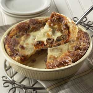 1 Dish Sausage and Muschroom Pizza Recipe