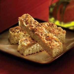 Easy Italian Herb Focaccia Bread