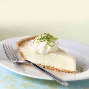 Lite Frozen Lime Cheesecake Recipe