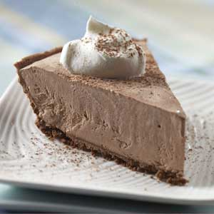 Lite Frozen Chocolate Cheesecake Recipe