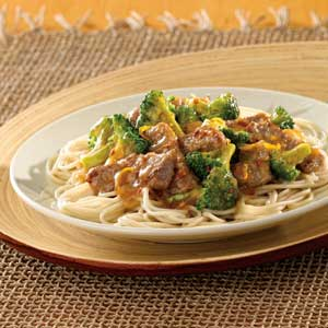 Spicy Orange Beef and Broccoli