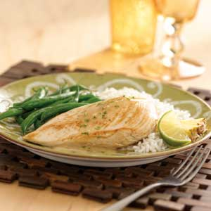 Chicken in Lime Sauce
