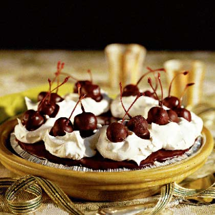 Chocolate-Covered Cherry PieRecipe