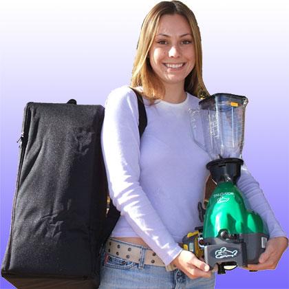 Gas-Powered Blender