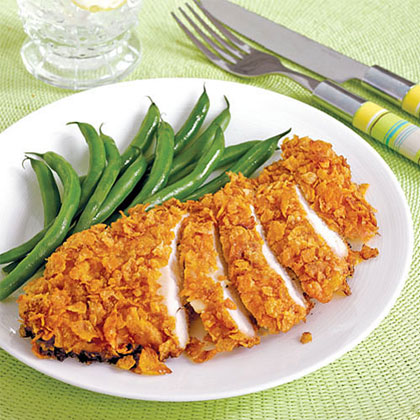 Cornflake-Crusted Chicken Recipe
