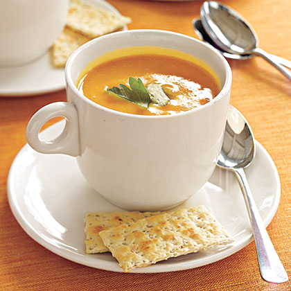 Spicy Pumpkin Soup Recipe | Myrecipes