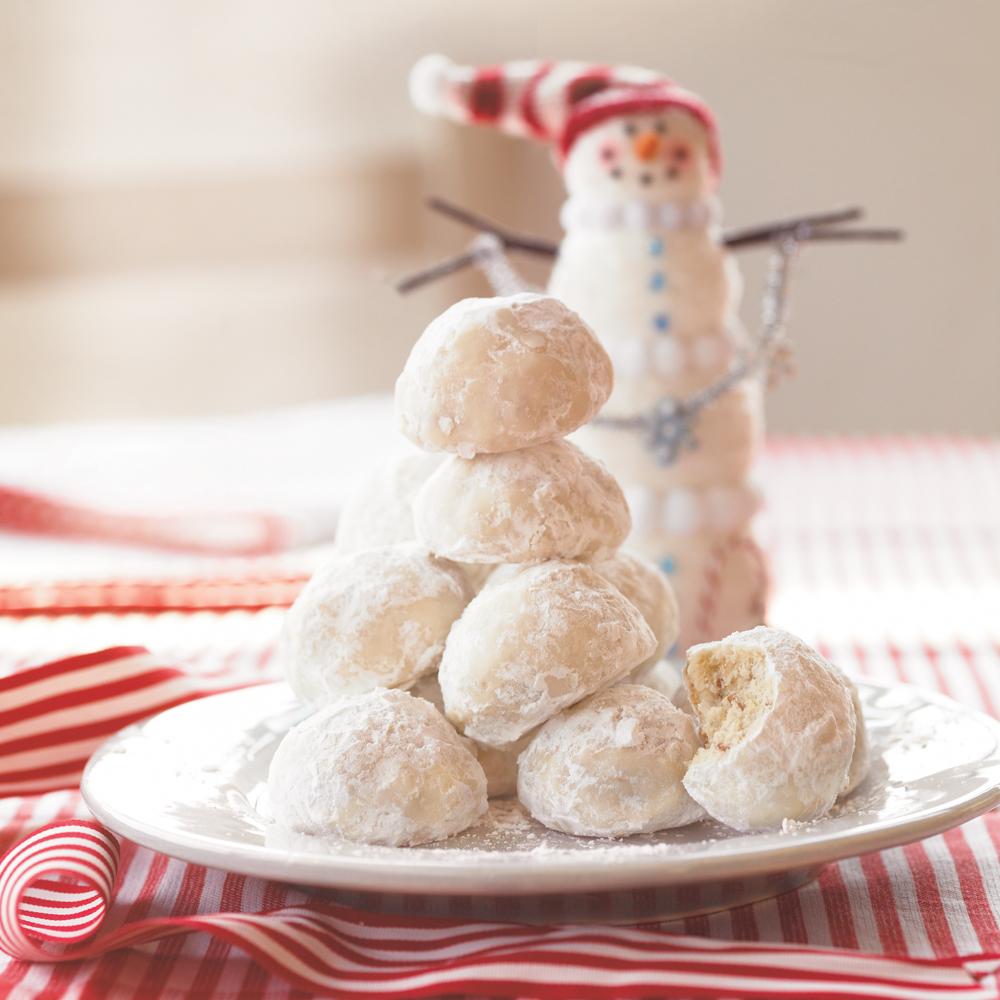 Lemon-Coconut Snowballs