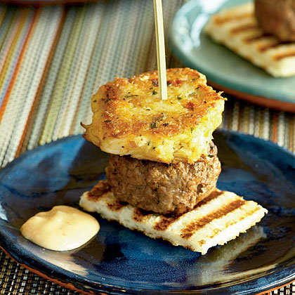Mini Surf-and-Turf BurgersRecipe