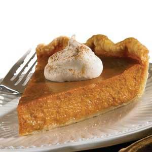Lite Pumpkin Pie Recipe