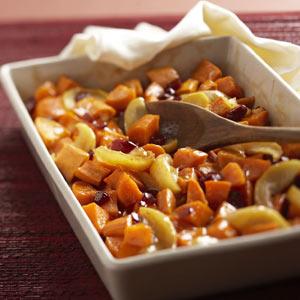 Lite Glazed Sweet Potatoes