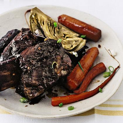 Slow-Cooker Asian Short Ribs Recipe | MyRecipes