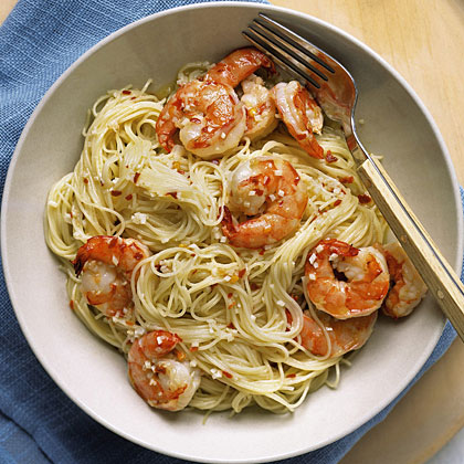 Angel Hair with Spicy ShrimpRecipe