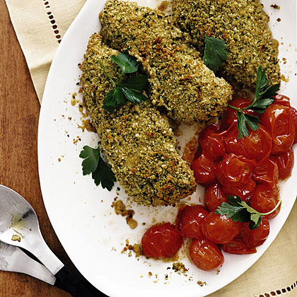Crunchy Herbed Chicken