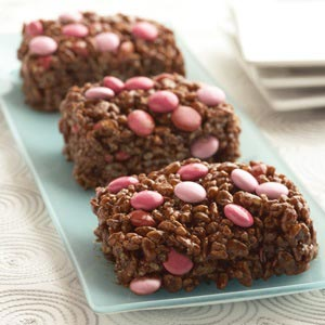 Karo Double Chocolate Crispy Treats