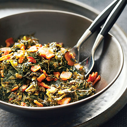 Bacon and Kale Adobo