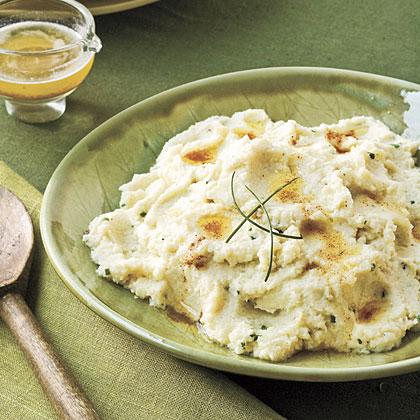 Brown Butter Cauliflower Mash