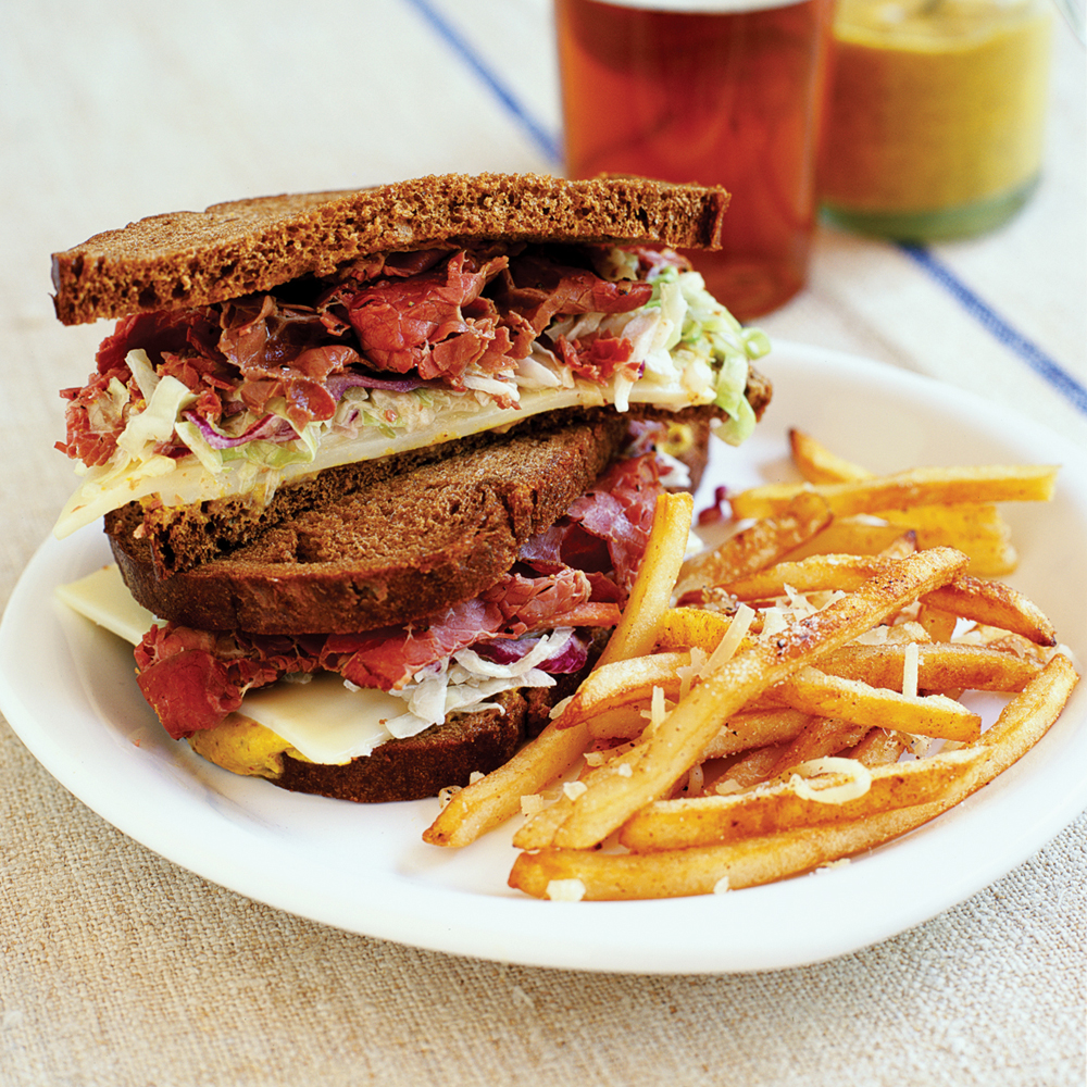 Hot Pastrami Sandwiches