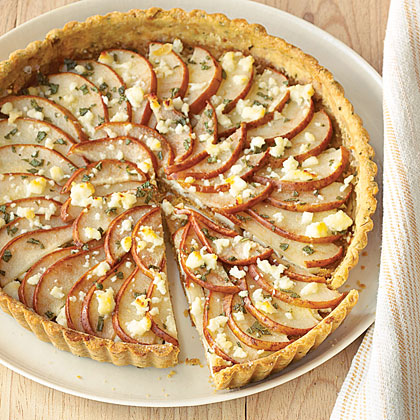 Savory Pear Tart Recipe Myrecipes
