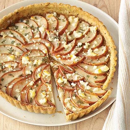 Savory Pear Tart Recipe