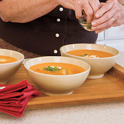 Red Pepper-and-Pear SoupRecipe