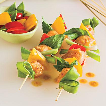 Spicy Thai Chicken KabobsRecipe