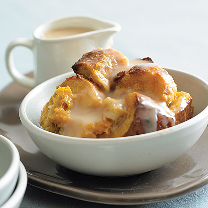 Butternut Squash Bread Pudding & Tres Leches Sauce Recipe ...