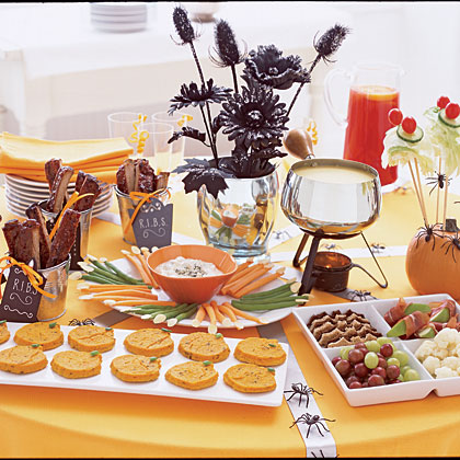 Halloween Party Menu