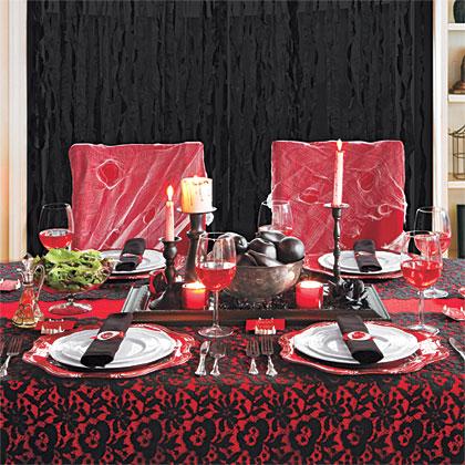 Vampire Dinner Menu