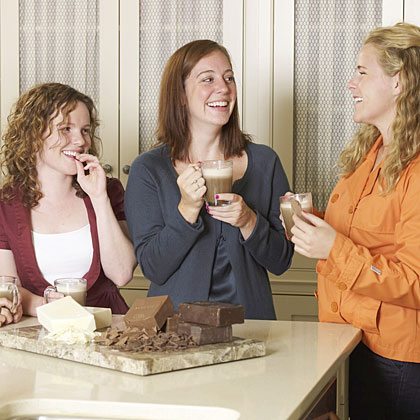 Girls' Night In: Coffee-and-Chocolate Tasting