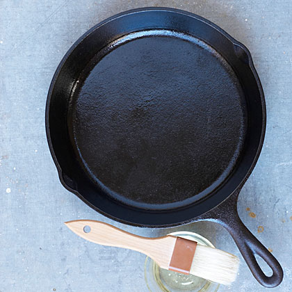 Seasoning a Cast-Iron Skillet