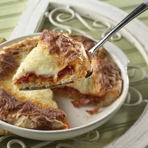 1 Dish Pepperoni Pizza Recipe