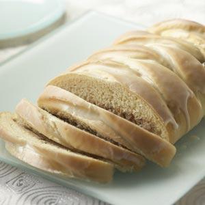 Cinnamon Pecan Cheese Bread Recipe