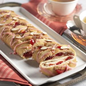 Cherry Almond Roll Recipe