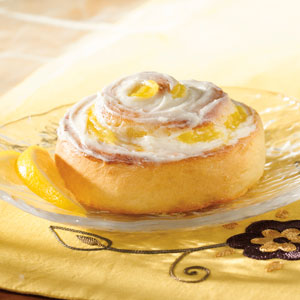Lemon Swirl Rolls Recipe