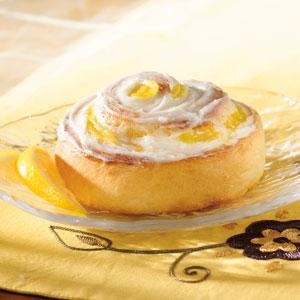 Lemon Swirl Rolls Recipe