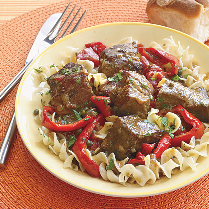 Beef Stew with Peppers Recipe | MyRecipes.com