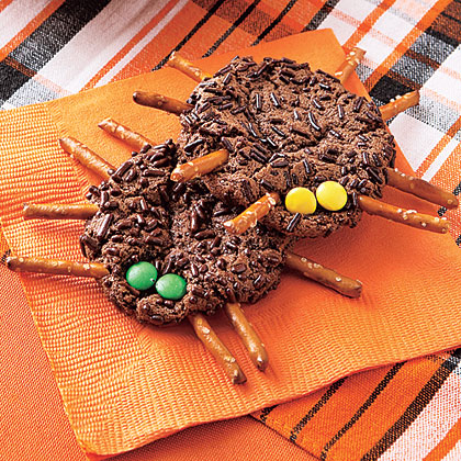 Chocolate-Cookie-Spiders Recipe