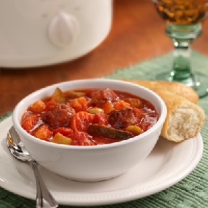 Hunt's Savory Italian Sausage Stew Recipe