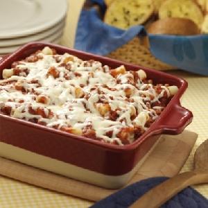 Hunt's Baked Ziti Casserole Recipe