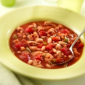 Hunt's White Bean Turkey Chili Recipe