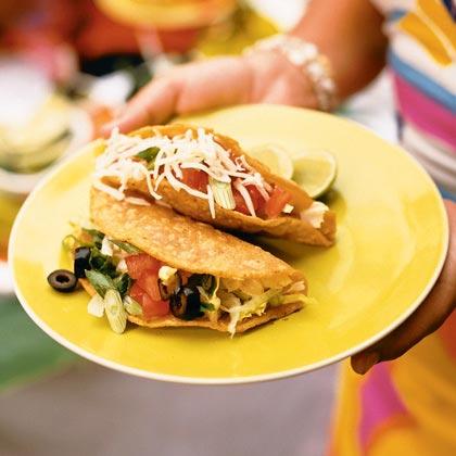 Crisp Chicken Tacos