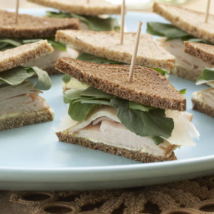 Curried Tea Sandwiches