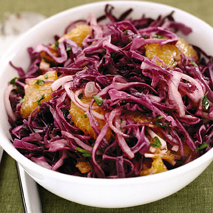 Autumn Cabbage Slaw