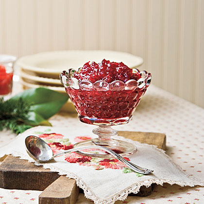 "Spirited Cranberry Sauce RecipeHomemade cranberry sauce is delicious on its own, but it's even better when infused with the festive flavors of port and orange liqueur. Reviewer Nancy recalls, ""This cranberry sauce is outstanding! I made four batches this Thanksgiving and placed the sauce in jelly jars and gave them away. Many, many compliments, and many of my friends used theirs over warm brie."""
