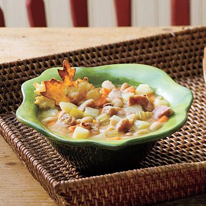 Ham-and-Bean Soup Recipe