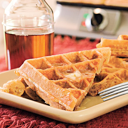 Oatmeal-Honey Waffles