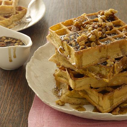 pumpkin-waffle-walnut Recipe
