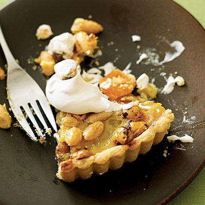 Apricot Nut Tart Recipe