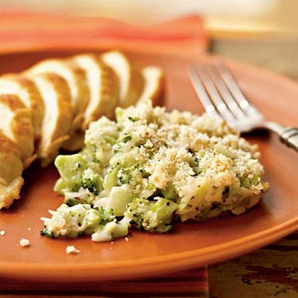 Swiss Broccoli Casserole